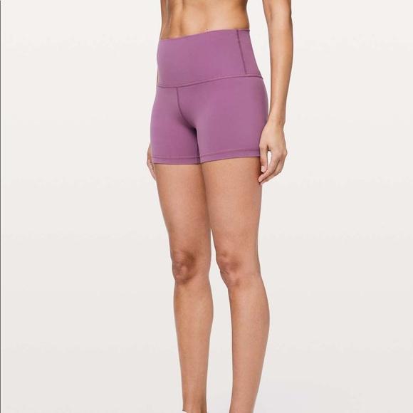 """Lululemon Align shorts 4"""" Size 6"""